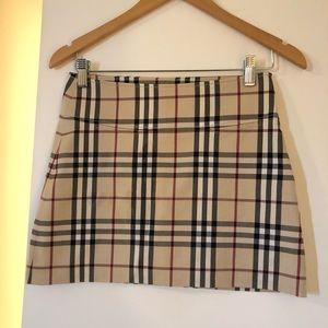 Burberry Miniskirt